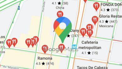 Photo of Google Maps ya muestra las opciones 'Comida para llevar' y 'Entrega'