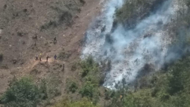 Photo of Sofocan incendios en San Andrés Tenejapan y Maltrata