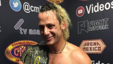 Photo of Luchador Matt Taven se ilusiona con regresar a la Arena México