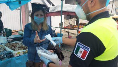 Photo of Continúa sanitización de tianguis  y espacios públicos