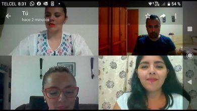 Photo of Alumna de Pedagogía presentó examen profesional de forma virtual