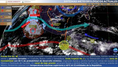 Photo of Nublados y lluvias con descargas eléctricas y granizadas en Veracruz