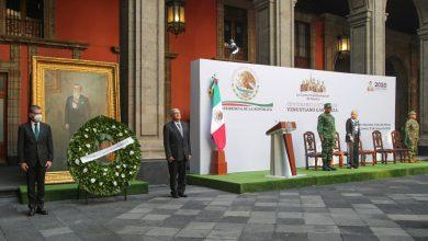 Photo of Encabeza Obrador homenaje a 100 años de la muerte de Venustiano Carranza