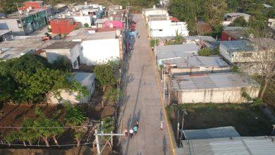 Photo of Julio Ortega inaugura calle pavimentada