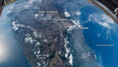 Photo of Así luce México desde el espacio