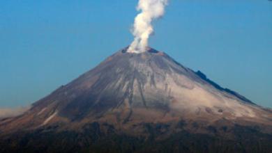 Photo of Volcán Popocatépetl presentó 168 exhalaciones en último día