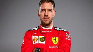 Photo of Vettel sale de Ferrari