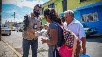 Photo of Continúa entrega de cubrebocas, para prevención de Covid-19 en Xalapa