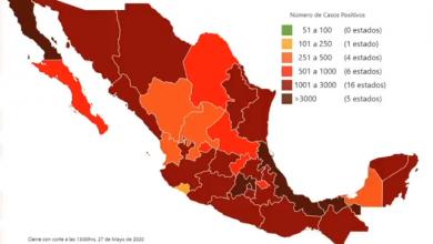 Photo of México suma 78 mil 023 casos de Covid-19 y 8 mil 597 defunciones