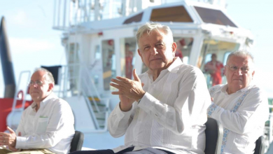 Photo of Supervisa AMLO ampliación del puerto de Coatzacoalcos,