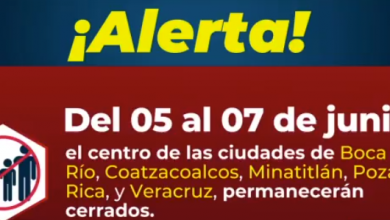 Photo of A partir de hoy hasta el domingo Poza Rica, Veracruz y Coatzacoalcos cerrarán calles