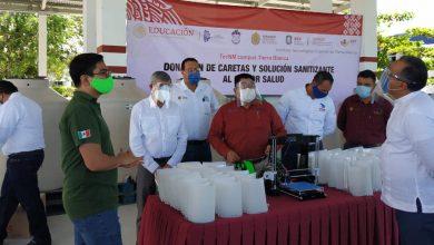 Photo of Comunidad tecnológica dona insumos para proteger la salud al sur del Estado