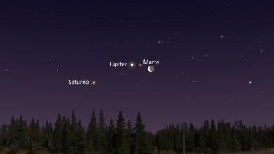 Photo of ¿Cómo y cuándo ver la aparición de Marte, Júpiter y Saturno?