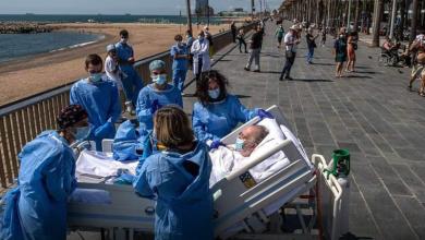Photo of Abuelito enfermo de Covid-19 pide ver el mar y doctores cumplen su deseo