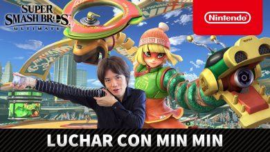 Photo of Presentan al nuevo personaje de ARMS que se unirá Super Smash Bros Ultimate