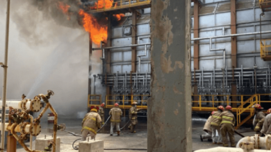 Photo of Registran incendio en refinería en Salina Cruz