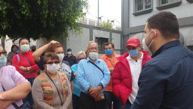 Photo of Derechohabientes del ISSSTE se manifiestan ante la falta de la atención médica