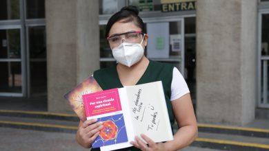 Photo of Con lectura, enfermeras del IMSS animan a pacientes con Coronavirus