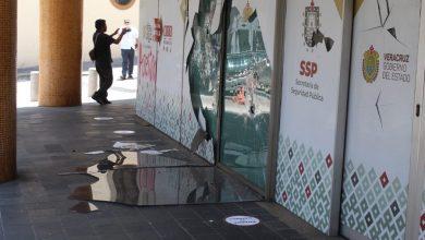 Photo of Vandalizan centro de Xalapa; repudian violencia con más violencia