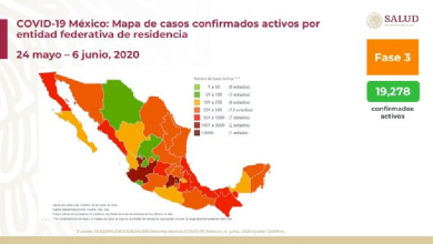 Photo of México reporta 113 mil 619 casos de Covid-19