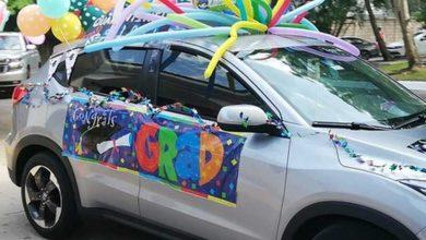 Photo of Escuela de Tampico celebra graduación a bordo de carros