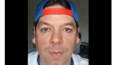 Photo of Video: Ya te pasaste, le dice hijo de Cepillín a Eduardo Videgaray