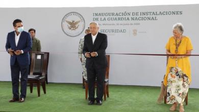 Photo of Inaugura López Obrador cuartel de la GN en Morelia
