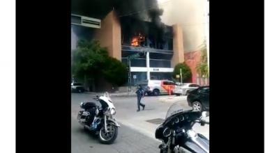 Photo of Arde en llamas la Tesorería de Nuevo León
