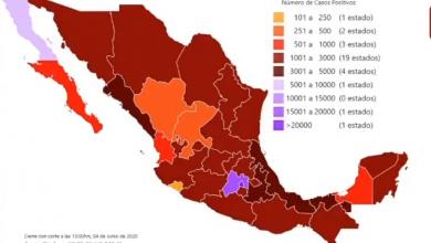Photo of Este jueves llega México a 12 mil 545 muertes por Covid-19