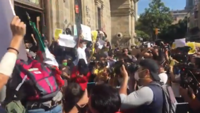 Photo of Vandalizan cerca de Palacio de Gobierno en protesta #JusticiaParaGiovanni