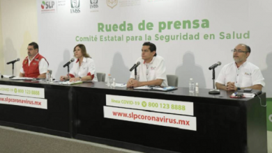 Photo of Van mil 135 casos confirmados de Coronavirus en San Luis Potosí