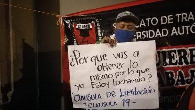 Photo of Trabajadores de la Universidad de Chapingo bloquean accesos a Palacio Nacional