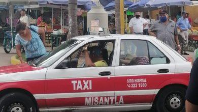 Photo of Algunos taxistas se reúsan en usar cubrebocas en Misantla
