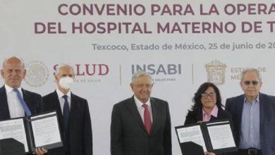 Photo of Tras convenio con el EDOMEX, Insabi operará Hospital Materno de Texcoco