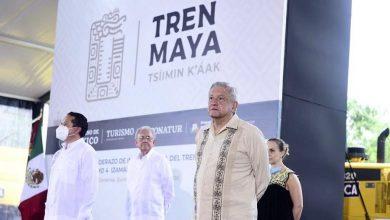Photo of López Obrador pone en marcha obras del Tramo 4 del Tren Maya