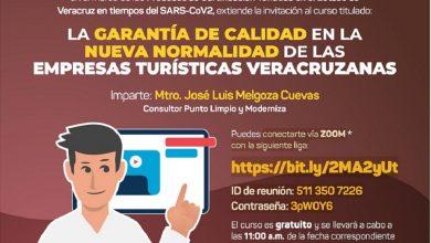 Photo of Prestadores de servicios turísticos podrán capacitarse en línea