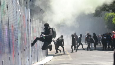 Photo of Encapuchados vandalizan durante protesta en CDMX
