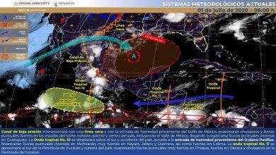 Photo of Nublados y chubascos vespertinos con tormentas eléctricas en Veracruz