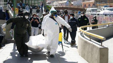 Photo of Policía de Bolivia retira más de 400 cuerpos contagiados  de casas y calles