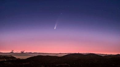 Photo of Así de impresionante se vivió el paso del cometa Neowise