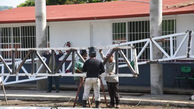 Photo of Construyen domo en Cobaev de San Andrés Tuxtla