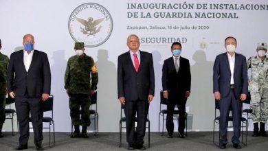 Photo of López Obrador inaugura nuevo cuartel de la GN en Zapopan