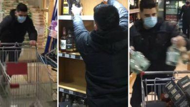 Photo of Ganó un minuto dentro del supermercado para llevarse lo que quisiera; esto agarró