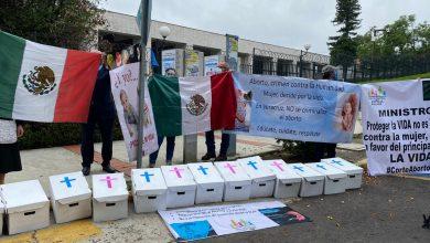 Photo of Frente Nacional por la Familia se planta frente al congreso; temen aborto legal