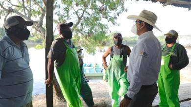 Photo of Con motores para lanchas, SADER y SEDARPA apoyan a pescadores de Tamalín