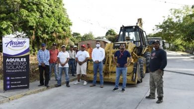 Photo of Benefician a 300 limoneros con mejora de camino en Emiliano Zapata