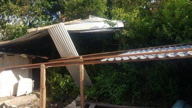 Photo of En Villa Nueva 6 casas afectadas por vendaval