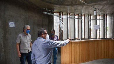 Photo of Supervisan avances  del Centro Cultural El Moral