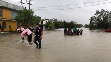 Photo of Reynosa muy afectada por paso del huracán Hanna
