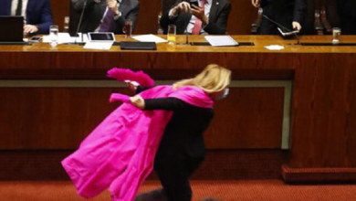 Photo of #Video: Diputada chilena corre como Naruto para festejar nueva reforma
